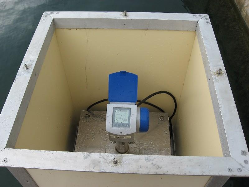 Capteur radar Optiflex, Krohne (crédits SHOM)
