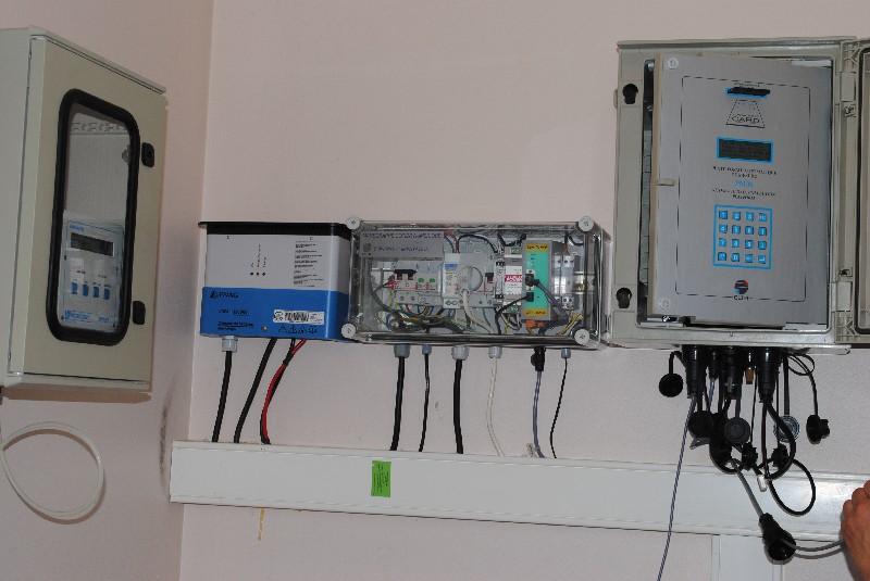 Centrales (crédits SHOM, 2011)