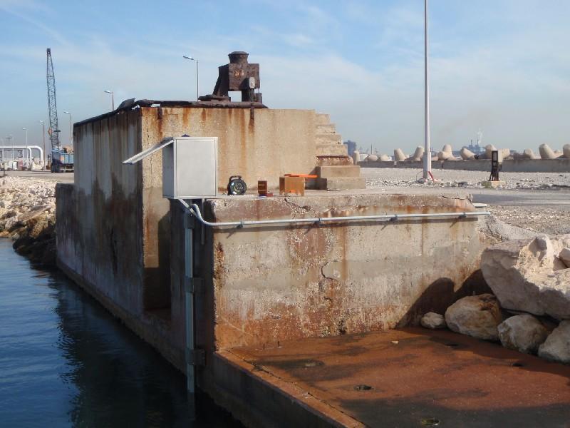 Observatoire de marée (crédits SHOM, 2010)