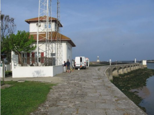 Observatoire de Boucau-Bayonne (crédits SHOM, 2006)
