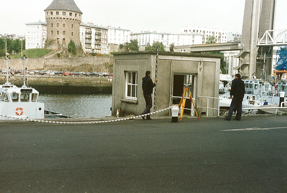 Observatoire marégraphique de Brest (crédits SHOM)
