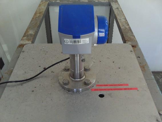 MCN radar Optiflex (crédits SHOM, 2009)