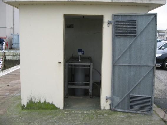 Observatoire de Cherbourg (crédits SHOM, 2007)