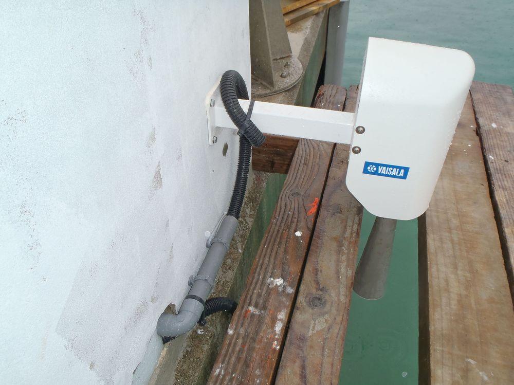 Capteur radar Lifou (crédits SHOM, 2011)