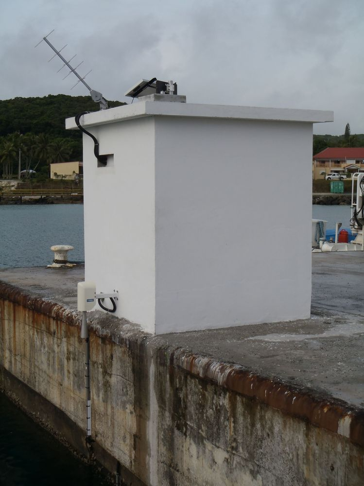 Observatoire de Maré (Crédits SHOM, avril 2012)