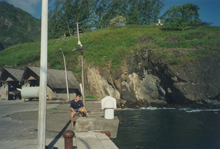 Observatoire de marée américain de Nuku Hiva (SHOM, 1997)