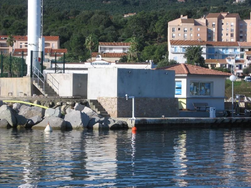 Marégraphe Solenzara (crédits SHOM, 2010)