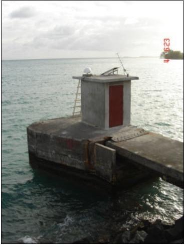 Observatoire marégraphique de Tubai (SHOM, 2008)