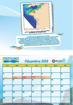 Calendrier REFMAR - Décembre 2013 : Qu'est-ce que le coefficient de marée ?