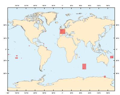 Zones Couvertes par le RAM 2012