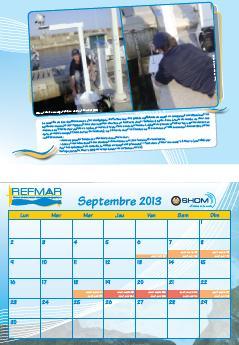 Calendrier REFMAR - Septembre 2013