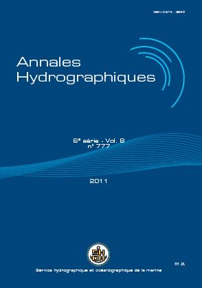 Annales Hydrographiques n777