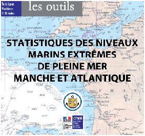Statistiques des niveaux extrêmes de Pleine Mer en Manche et Atlantique