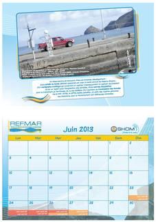 Calendrier REFMAR - Juin 2013