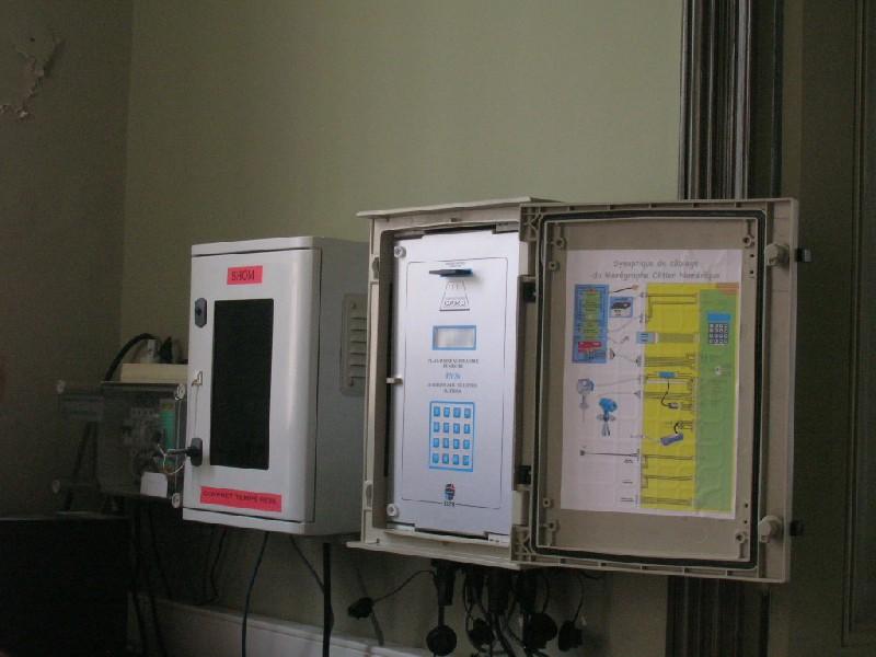 Centrales (crédits SHOM, 2009)