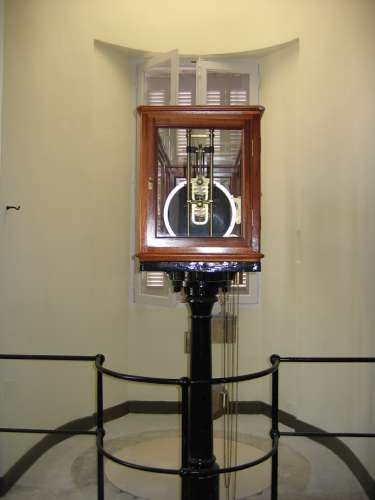 marégraphe mécanique (crédits Université de La Rochelle)