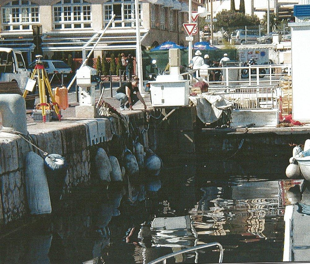 Observatoire marégraphique de Port Hercule Monaco (crédits SHOM, 2003)