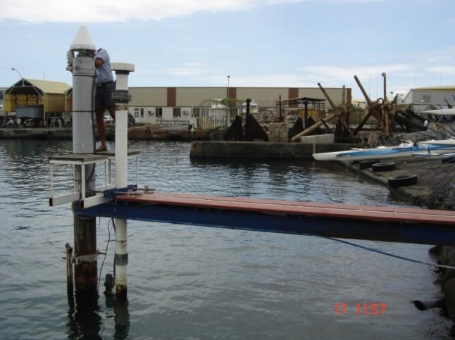 Observatoire de marée américain de Papeete (SHOM, 2008)