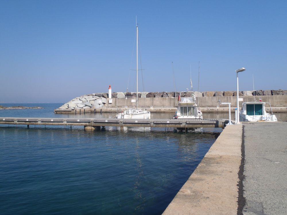 Port-Ferreol Capteur vue globale (Crédits SHOM, mars 2012)