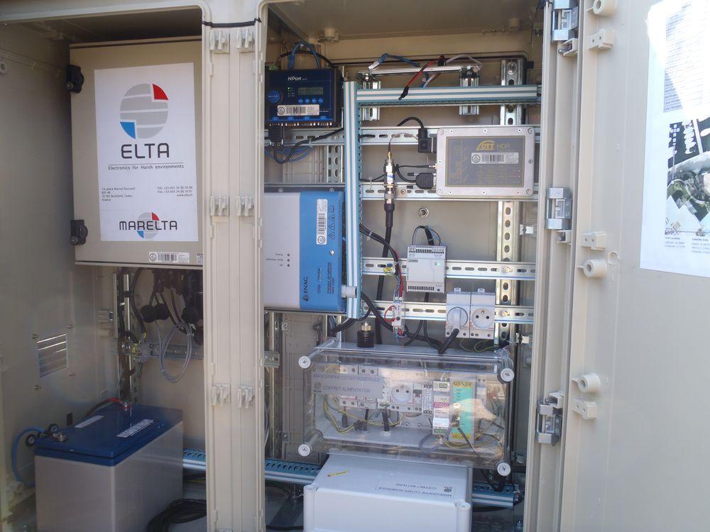 Port-Ferreol Centrale (Crédits SHOM, mars 2012)