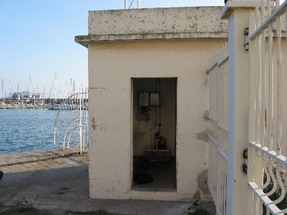 Observatoire de Sète (crédits SHOM, 2009)